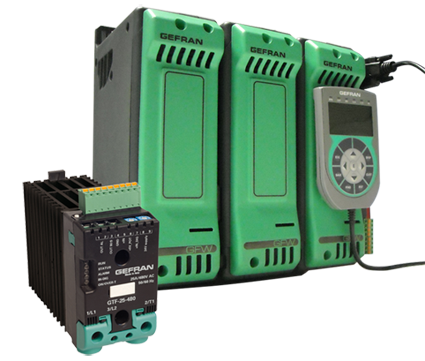 Gefran SCCR 100KA-600V approved power controllers