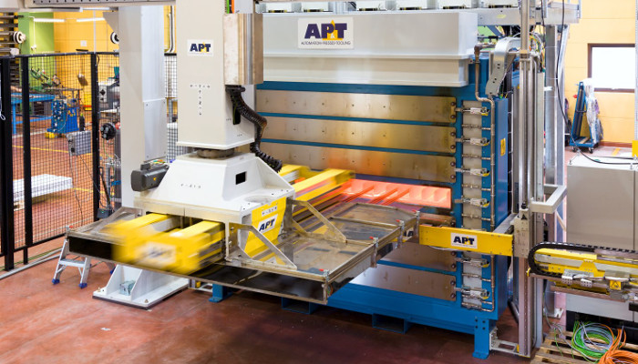 AP&T - Hot stamping lines
