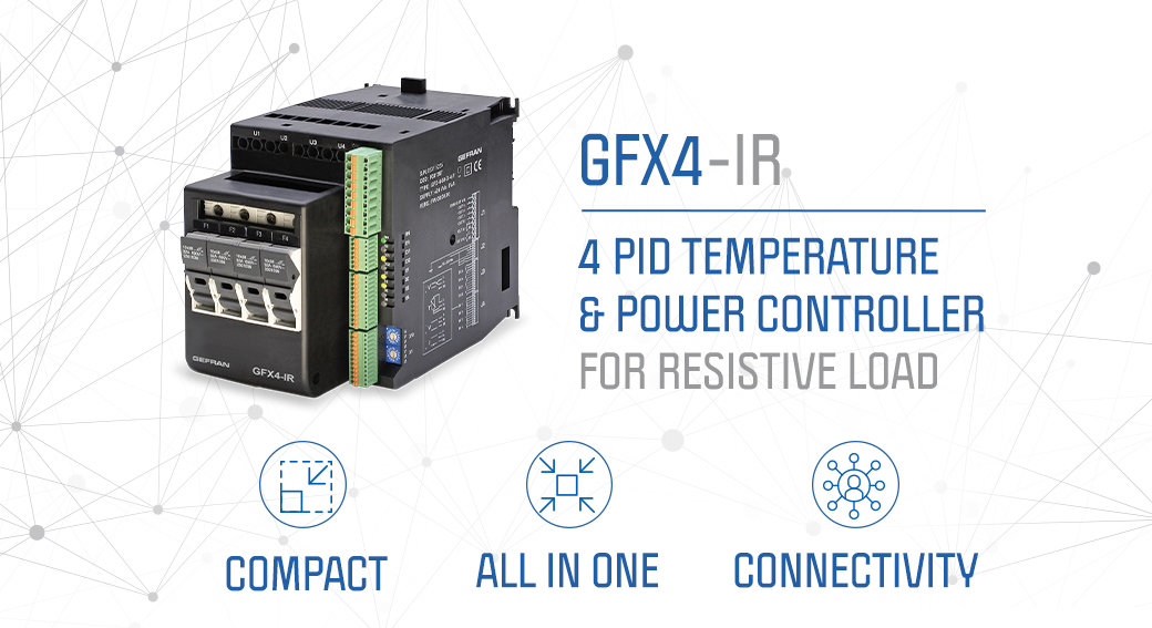 Compact and performing: GFX4-IR is the new frontier for electrical power management